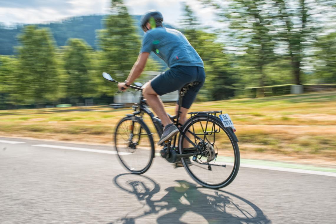 GPS pour vélo avec cartographie