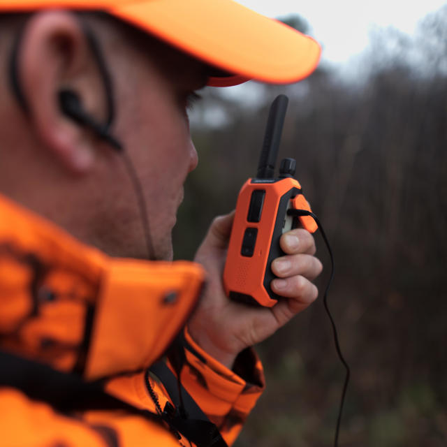 allumer talkie-walkie